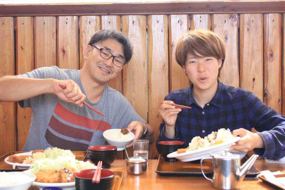 相馬牛のメンチ定食を食べました