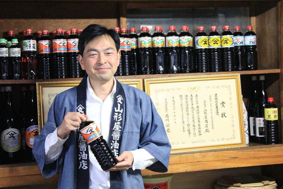 2年連続農林水産大臣賞を受賞した山形屋商店の5代目渡辺和夫さん