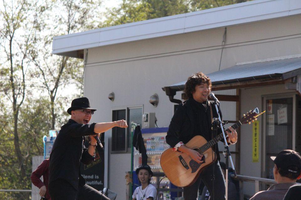 「なみえ復興祭 2014 秋」レポート。励まし屋のおふたり。