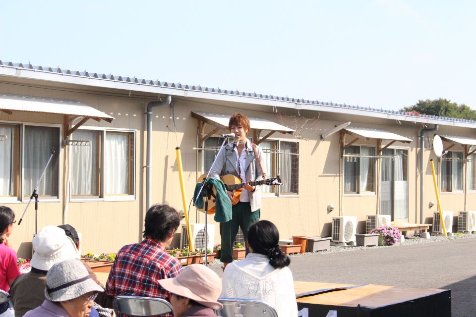 「なみえ復興祭 2014 秋」レポート。ふくろうさん。