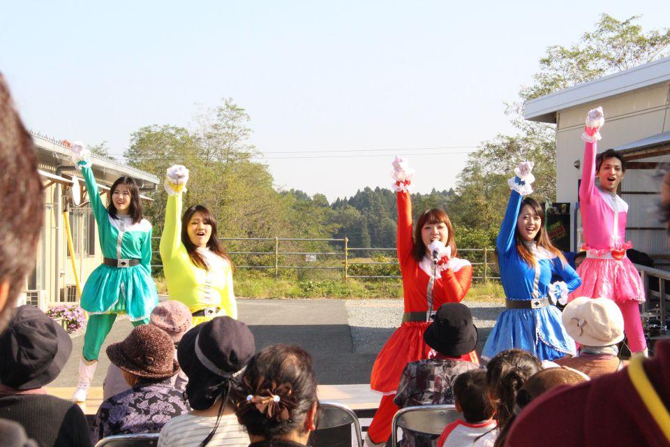 「なみえ復興祭 2014 秋」レポート。銀座本店のダンスステージ