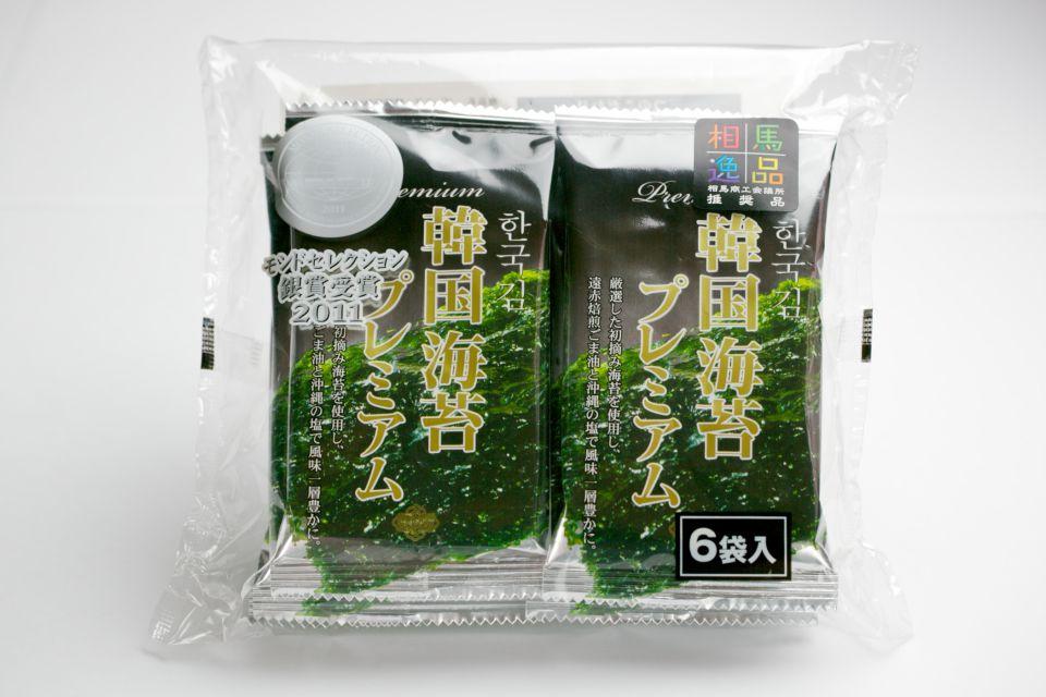 モンドセレクションで銀賞を受賞したサンエイ海苔の韓国のり。